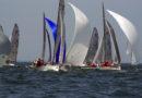Clagett congratulates blind sailor Mitsuhiro Iwamoto