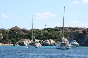 The Baths on Virgin Gorda is a popular stop for sailors and offers moorings and a great beach.